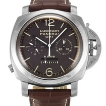 Panerai LUMINOR GMT 8 DAYS MONOPULSANTE TITAN PAM311