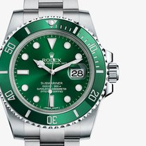 勞力士 (Rolex) [NEW] 116610LV Green Submariner (Retail:HK$68,100)