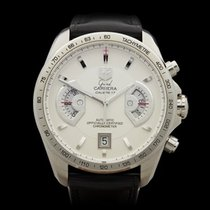 TAG Heuer Grand Carrera Chronograph Stainless Steel Gents...