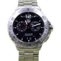 TAG Heuer Formula 1 WAU111A.BA0858 42mm Black Index Stainless...