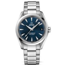 Omega Seamaster Steel Blue Dial 231.10.39.21.03.002 Mens watch