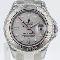 Rolex Yacht-master Steel And Platinum Automatic Gray Dial...