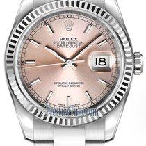 勞力士 (Rolex) Datejust 36mm Stainless Steel 116234 Pink Index...