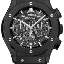 Hublot Classic Fusion Aerofusion Chronograph Black Magic 45mm...