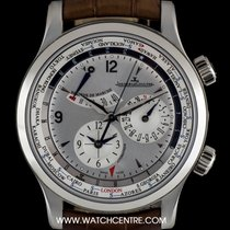 Jaeger-LeCoultre Stainless Steel Master Control World Geograph...