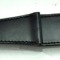 Ralph Lauren Black Calf Strap for Large Stirrup Collection 207 mm