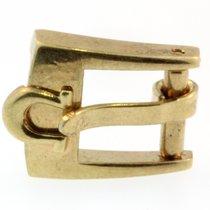Omega Dornschliesse Buckle Swiss Plaqueg Stahl Vergoldet 6mm O15