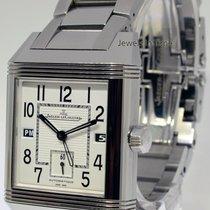 Jaeger-LeCoultre Reverso Squadra Hometime Steel Watch Box/Book...