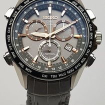 Seiko Astron GPS Solar Titanium Chronograph – wristwatch – men...