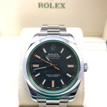 Rolex Milgauss Stainless Steel Black Dial Men's Watch-1164...