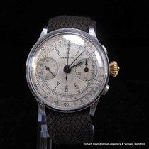 Certina ULTRA Rare CERVUS Vintage 3 Button Chronograph 1st...