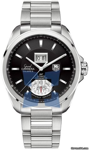 TAG Heuer Grand Carrera Calibre 8 RS Grand Date GMT