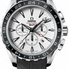 Omega Seamaster Aqua Terra Chronograph Stainless Steel On Leather