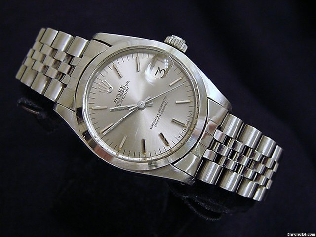 Rolex Datejust Date Watch Slate