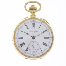 Ulysse Nardin Locle Pocket Watch 18K Gold Chronostop