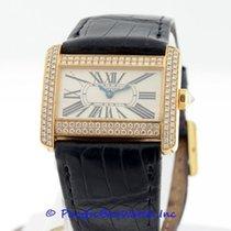 Cartier Divan Diamond Ladies WA301071 Pre-owned