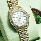 Rolex Datejust Lady President with diamonds