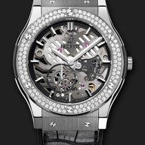 Hublot Classic Fusion Classico Ultra-Thin Titanium Diamonds