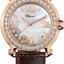 Chopard Happy Sport Round Quartz 36mm Ladies 277473-5002