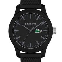 Lacoste 2010766 Unisex Uhr schwarz Silikon 42 mm