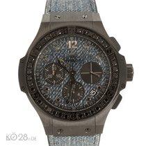 Hublot Big Bang JEANS Black Diamonds Unworn Full Set 12/2016 D