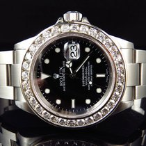 Rolex Excellent Mens Rolex Sumbariner 40MM Stainless Steel VS...