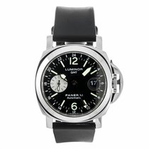 Panerai Luminor GMT Automatic Acciaio Watch PAM00088 (Pre-Owned)