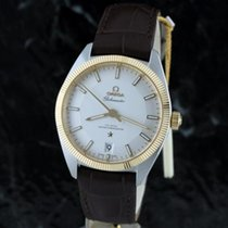 Omega Constellation Brown Leather Automatic Mens Watch...