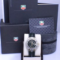 TAG Heuer 6000 Stainless Steel & 18K YG Chronometer Box...