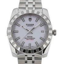 Tudor 22010/62540 Classic Date in Steel - on Steel Bracelet...