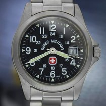 Swiss Military 6-613/617 Quartz w/Date, Stainless steel