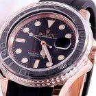 Rolex 18k Everose Yachtmaster Rubber Strap - Unworn 116655