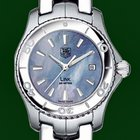 TAG Heuer Link Lady Blue Mother Of Pearl Box&Papers