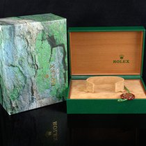 Rolex Uhrenbox mit Umkarton & Hang Tag
