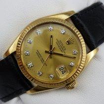 Rolex Datejust Medium - Gold 750 - Diamant-ZB - aus 1978