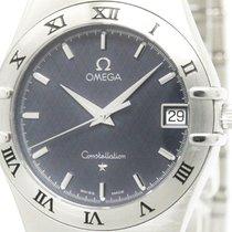 Omega Polished Omega Constellation Steel Quartz Mens Watch...