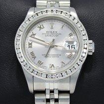 Rolex Datejust 179174 0.95ct Diamond Bezel Roman Dial Jubilee...