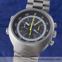 Omega Flightmaster Chronograph Handaufzug Herrenuhr 145.036...