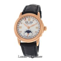 Blancpain Leman Triple Calendar Moonphase 18K Rose Gold MOP