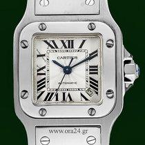 Cartier Santos Galbee Automatic Roman Dial Box&Papers