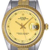 Rolex Men's Rolex Date Watch 15053 Champagne dial