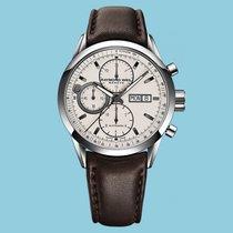 Raymond Weil Freelancer Chronograph Silber Lederband braun -NEU-