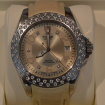 Tudor Prince Date Rotor Diamond Automatic Stainless Steel