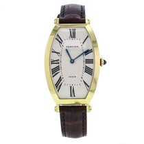 Cartier Privee Collection Tonneau Yellow Gold Hand Wound...