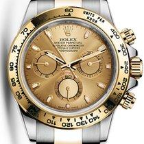 勞力士 (Rolex) Cosmograph Daytona Steel Gold Champagne Dial