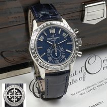 Patek Philippe Complications Platinum Baguette Diamond Bezel...