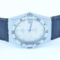 Omega Constellation Herren Uhr Quartz 36mm Stahl/stahl Rar Mit...