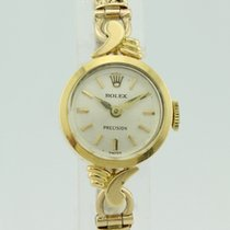 Rolex Precision 60's Manual Winding 9K and 18K Gold Lady 4050