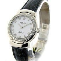 Rolex Unworn 6671/9 Cellisima Quartz - White MOP Roman Dial...