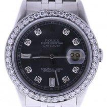 Rolex Datejust Analog-quartz Womens Watch 16234 (certified...